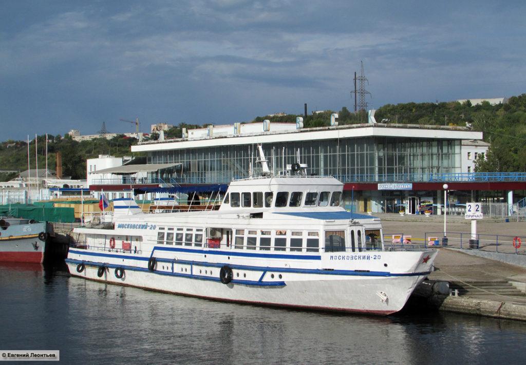 теплоход московский-20